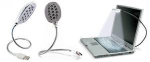 USB lampička k notebooku 13 LED diod