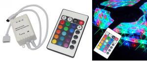 Regulátor LED pásků RGB s ovladačem
