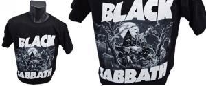 Tričko Black Sabath model 001