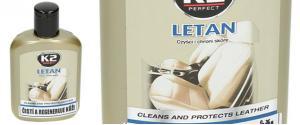 K2 LETAN 200 ml - čistící a ochranný prostředek na kůži