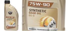 K2 75W-90 1 l - syntetický převodový olej GL-5