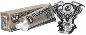 K2 ALUCHROM - pasta na čištění a leštění kovových povrchů
