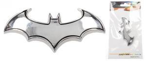 Kovová samolepka Batman 8 x 3 cm