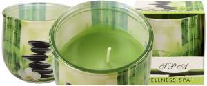 Vonná svíčka welness SPA zelená