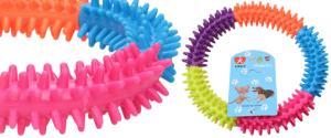 Gumový kruh pro psa 15 cm