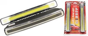 Světla pro denní svícení 6 LED x2 podélná