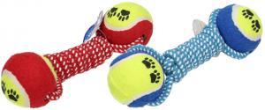 Hračka pro psa provaz s tenisáky a ťapkami