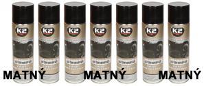 K2 Akrylová barva ve spreji černá matná