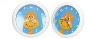 Nástěnné hodiny FLORINA FUNNY žirafa ručičkové