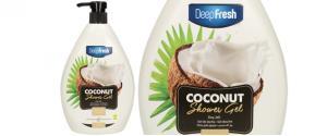 Deep Fresh sprchový gel coconut 1L