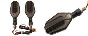 LED směrová světla na motorku HT-9112 velká