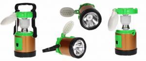 Lampa pro kemping 3v1+ solární nabíječka
