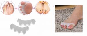 Silikonový oddělovač prstů