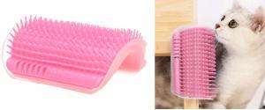 Masážní rohový kartáč pro kočky