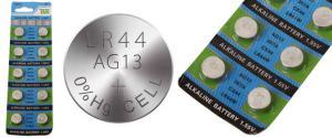 Knoflíková baterie AG13 357A CX44 LR44W 1,55V