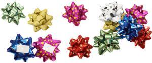 Mašle na dáreky 6 kusů