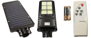 LED solární venkovní světlo 120W na dálkové ovládání