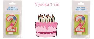 Svíčka na dort- číslo 2