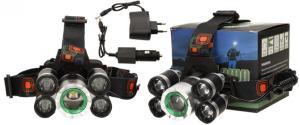 Výkonná nabíjecí LED čelovka MX-A8-T6