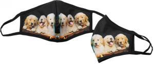 Rouška s fotkou psů