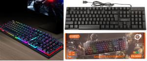 Herní podsvícená klávesnice FO-D003