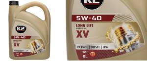 K2 5W - 40 BENZIN, DIESEL, LPG 5 l - motorový olej