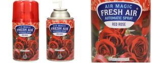 FRESH AIR náplň do automatického osvěžovače vzduchu 260ml - Red Rose