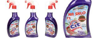 CIT čistící prostředek na sklo 500 ml Levandule