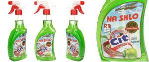CIT čistící prostředek na sklo 500 ml Jablko