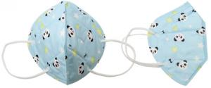 Respirátor FFP2/KN95, respirační rouška dětská modrá