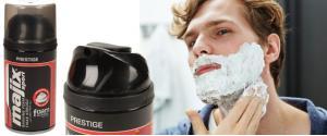 Pěna na holení Prestige červená