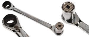 Ráčna s univerzálním klíčem 8-19 mm