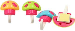 Nástěnné háčky houba 3 ks