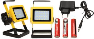 Přenosný nabíjecí LED reflektor 30W 20 cree LED