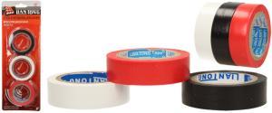 Sada izolačních samolepících pásek 3ks- bílá, černá,červená