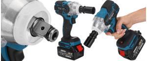 Akumulátorový rázový utahovák DrillPro 520 Nm Model: G29682