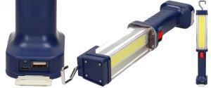 Pracovní přenosné NABÍJECÍ super ostré světlo Heavy Duty WorkLight ZJ-889-B