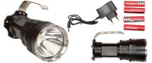 Nabíjecí baterka LED high search 8000 lumens