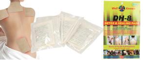 Detoxikační a léčivé náplasti DH-8