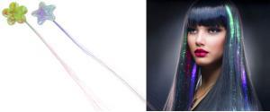 LED svítící pramínek do vlasů