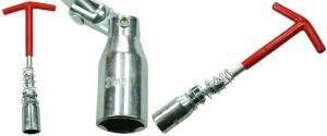 Klíč na svíčky s pružinou 21 mm