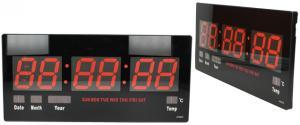 LED digitální hodiny JH4622