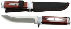 Hobby lovecký nůž s dřevěnou rukojetí
