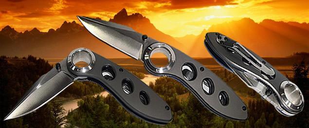 Kvalitní zavírací nůž s klipem