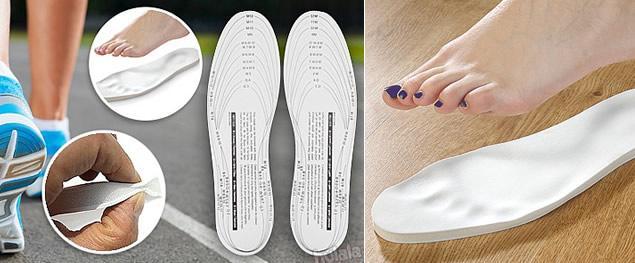Vložky do bot z paměťové pěny