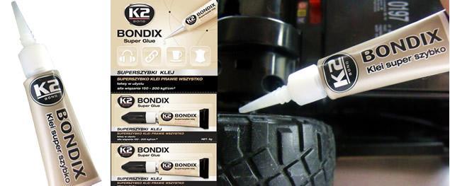 K2 BONDIX 3 g - sekundové lepidlo