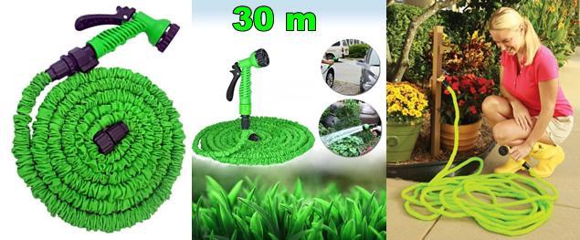 Smršťovací zahradní hadice 30 metrů