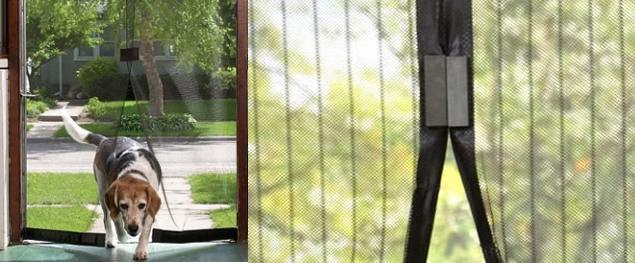 Dveřní sít proti hmyzu