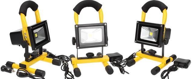 Přenosný nabíjecí LED reflektor 10W