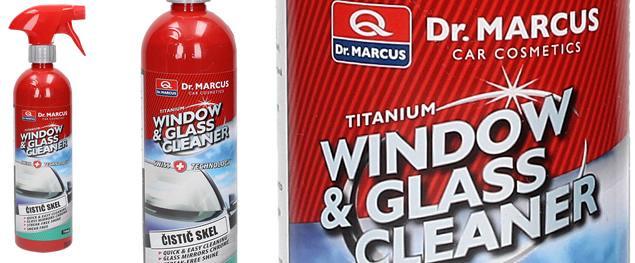 DR. MARCUS WINDOW AND GLASS CLEANER 750 ml - čistič skel